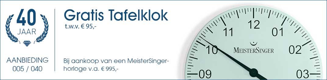 005 / 040 - MeisterSinger Tafelklok