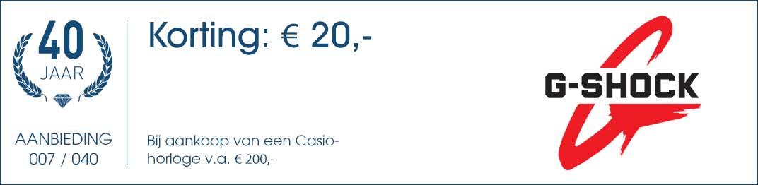 007 / 040 - Casio Aanbieding