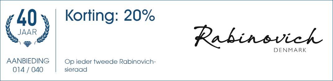 014 / 040 - Rabinovich Aanbieding