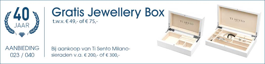 023 / 040 - Ti Sento Jewellery Box