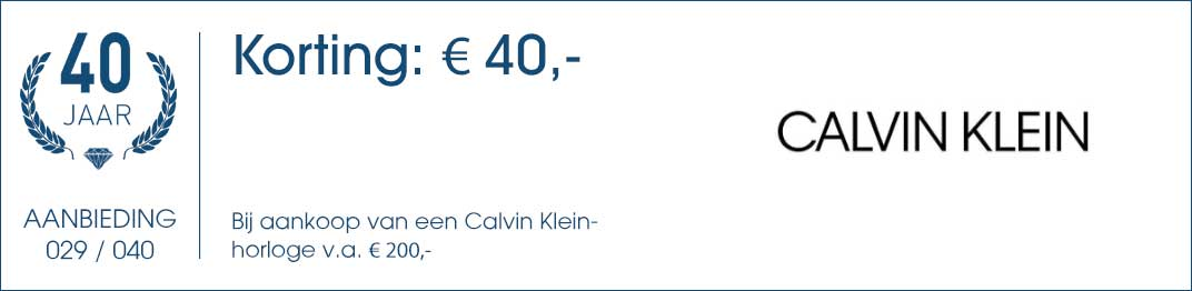029 / 040 - Calvin Klein Aanbieding