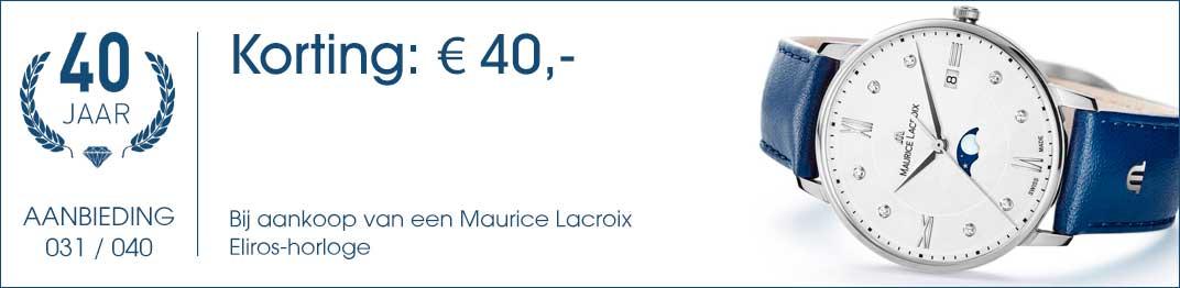 031 / 040 - Maurice Lacroix Aanbieding