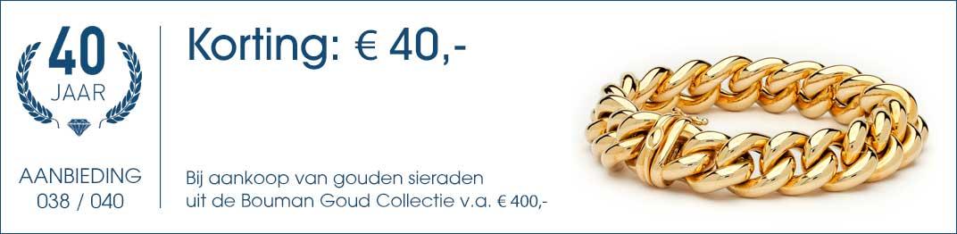 038 / 040 - Bouman Goud Collectie Aanbieding