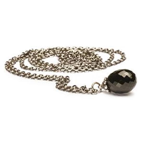 Trollbeads Zilveren Collier Met Onyx 60 Cm kopen in de aanbieding